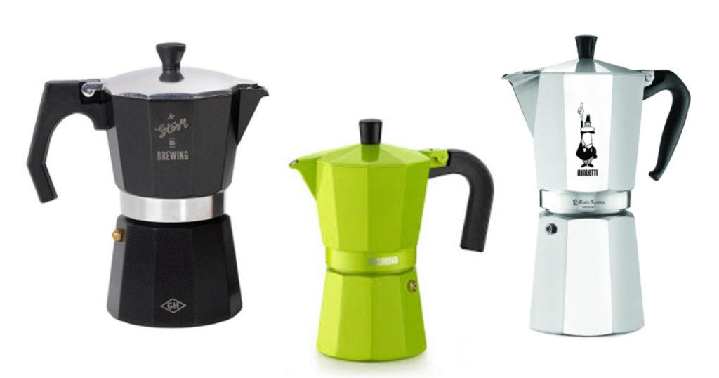 les modèles de cafetière italienne