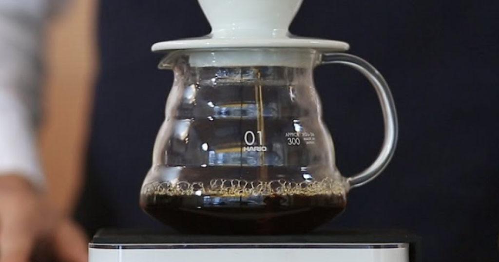 dosage du café filtre